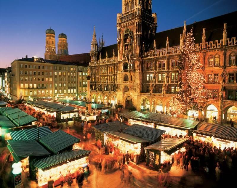 mercado de navidad en munich