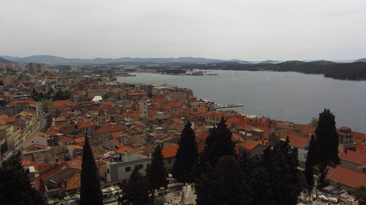 Sibenik e islas de Croacia