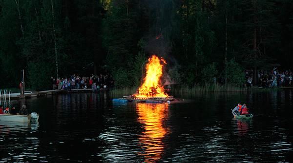 San Juan en Finlandia
