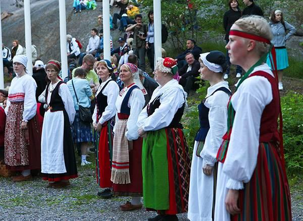 Celebración en Finlandia