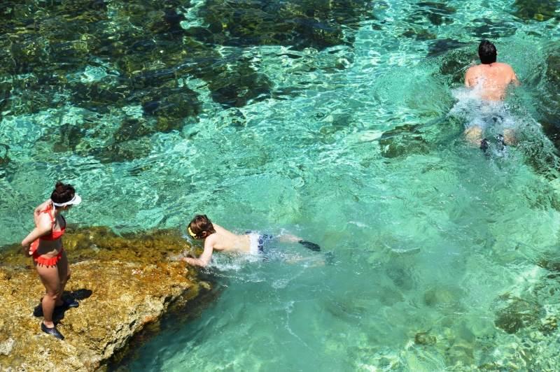 Nadando en Malta y sus islas