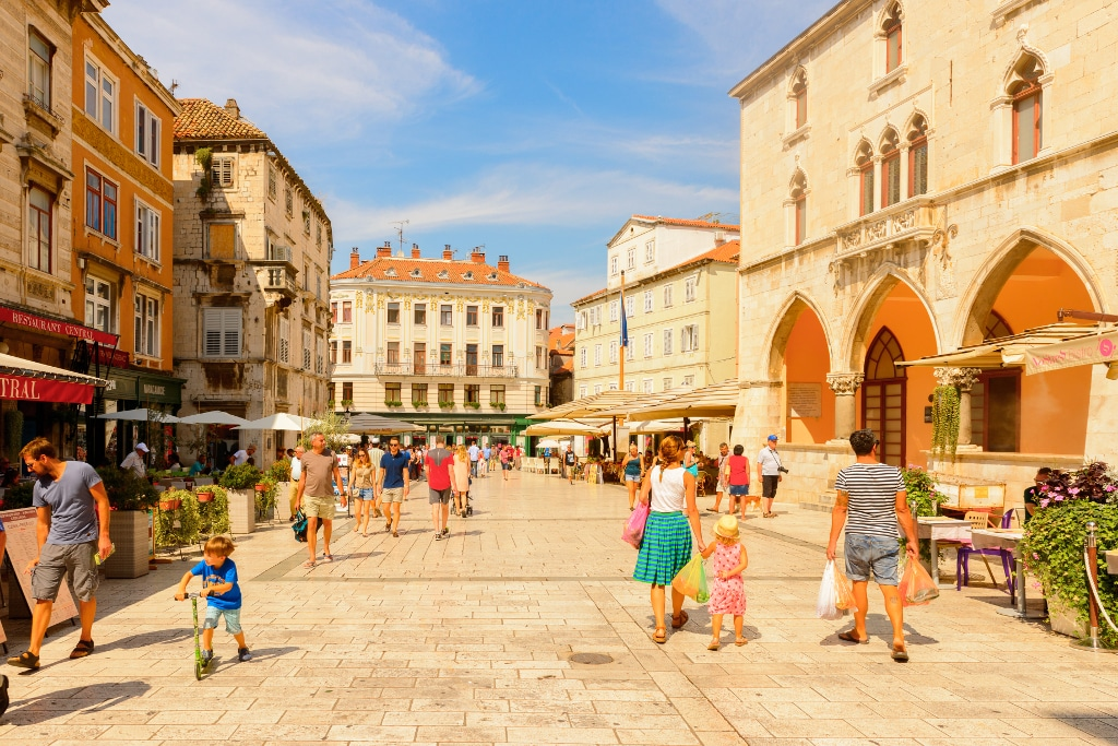 Plaza de Split