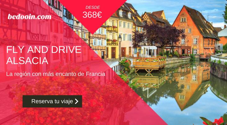 Viaje en coche por Alsacia