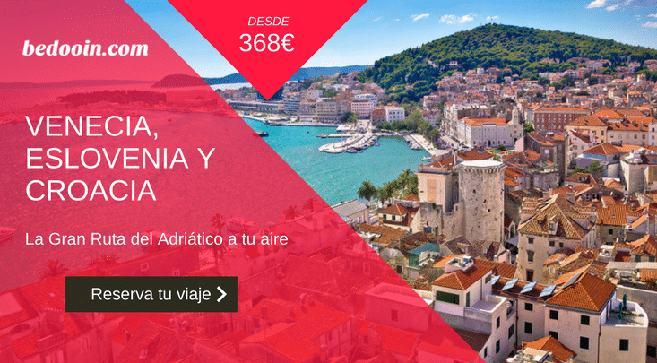 Fly and Drive Venecia, Eslovenia y Croacia