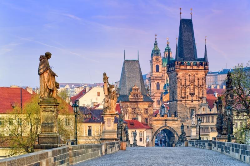 Visita el Puente de Carlos en Praga