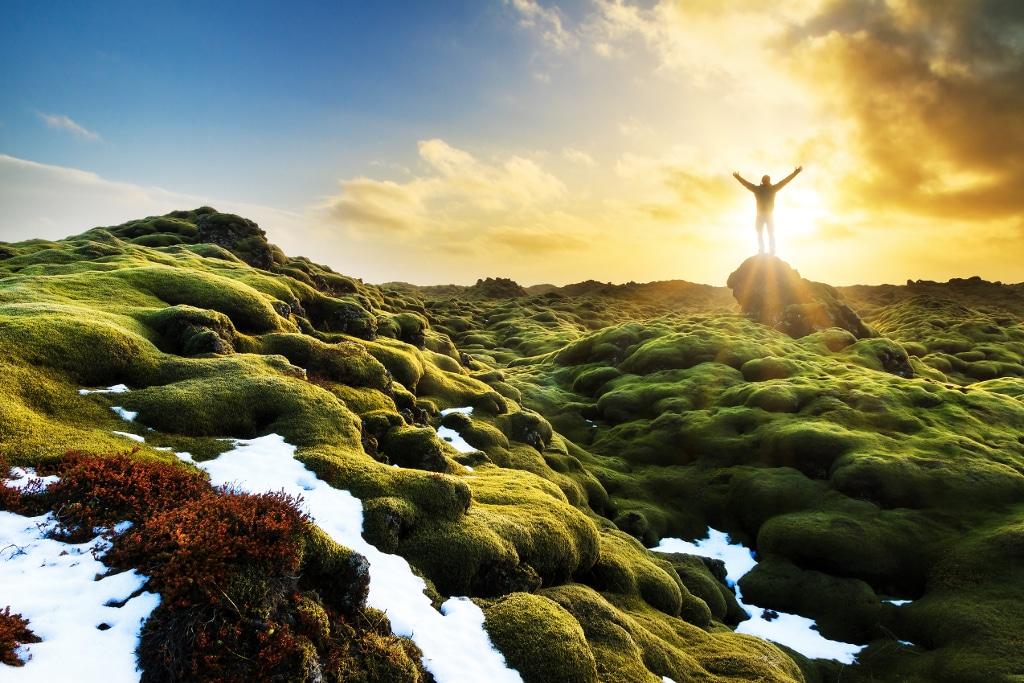Eldhraun, desierto de lava en el sur de Islandia