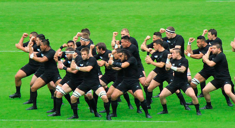 Haka maori, all blacks