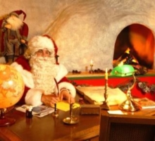 Papá Noel en Montreaux (Suiza)