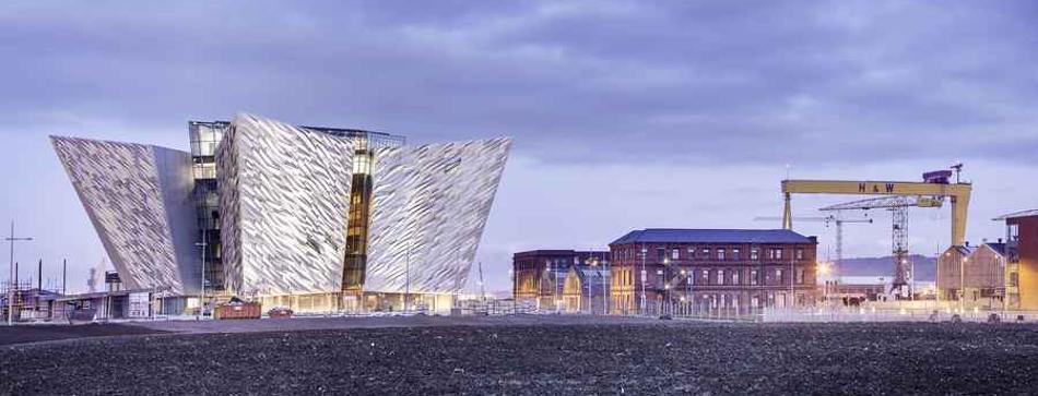 Museo del Titanic en Belfast, Irlanda del Norte