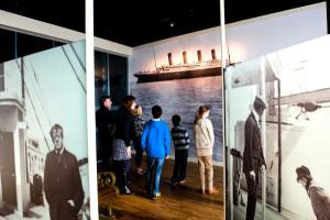 Viaje inaugural del Titanic