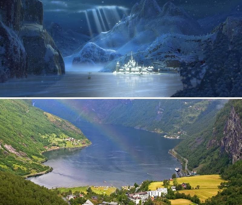 ¿Fiordo de Geiranger o … Reino de Arendelle ? – Noruega