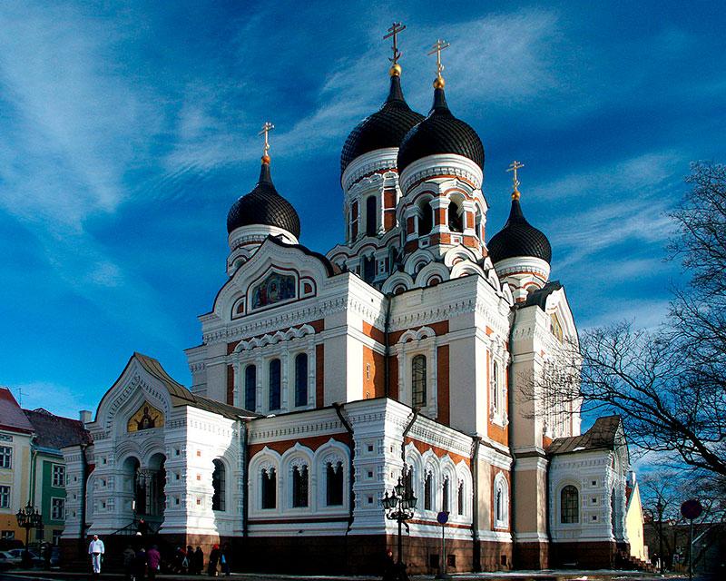 catedral Alexander newski, Tallin