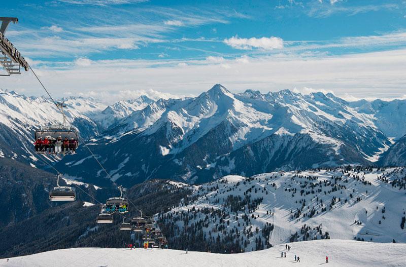 estacion de esquí de Mayhorfen