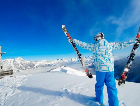 Esquiar en Saalbach