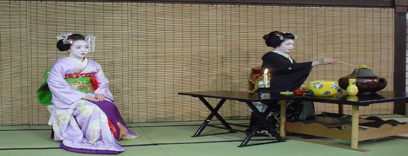 Ceremonia tradicional del te en japon