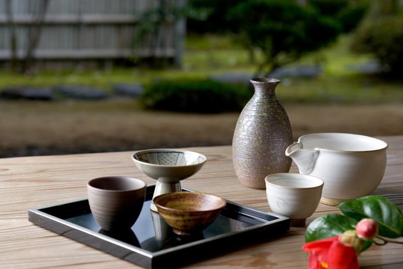 Utensilios de la ceremonia del te