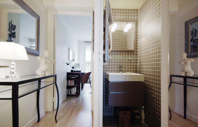 BREA : Montparnasse, studio apartment, paris