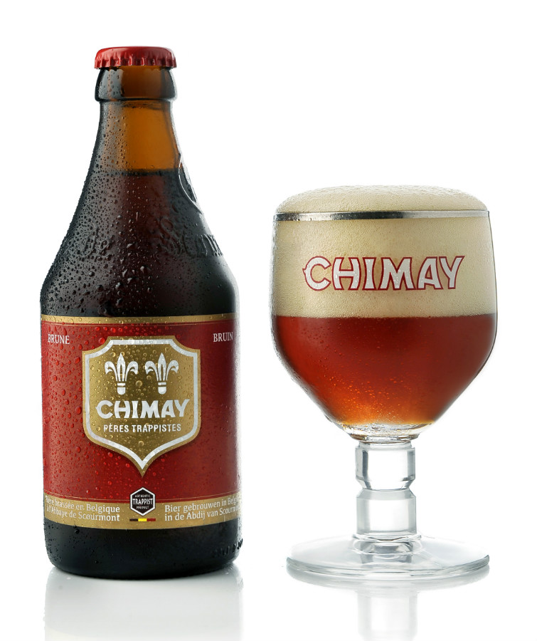 Chimay Red Cap: belgian trappist with fruity aromas