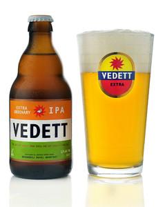 Vedett IPA beer