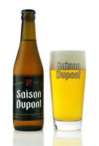 Saison Dupont Belgian beer