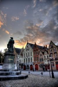 Bruges, Brugge, Bruges square, Belgium