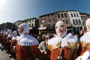 UNESCO World Heritage, Gilles de Binche, Belgium, Carnival in Belgium