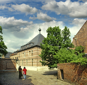 UNESCO World Heritage, Great Béguinage Leuven, Flanders, Leuven