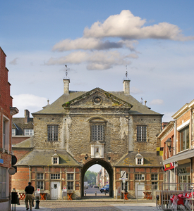 UNESCO World Heritage, Lier, Béguinage Lier, Flanders