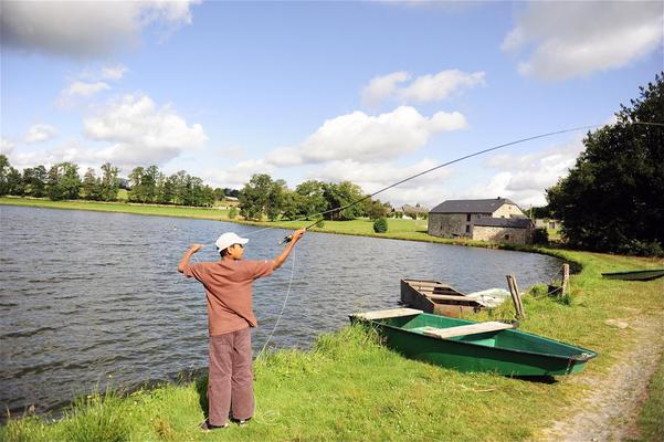 Ardennes, trout fishing, trout farm