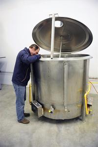 Poperinge - Westhoek, belgian beer, brewing kettle, brewing, visit Belgium