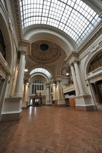 Belgian beer temple, Brussels stock exchange