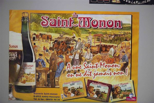 La Saint-Monon, Belgian Beer, Beer in Belgium
