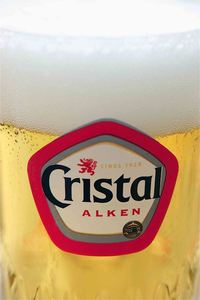 cristal alken, Belgian beer, beer in Belgium