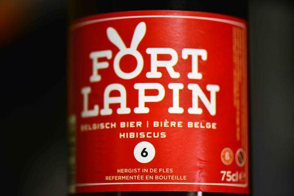 Fort lapin hibiscus, fort lapin, Belgian beer