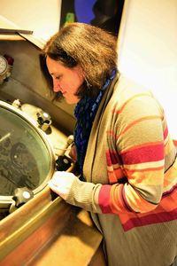 Orval brewmaster Anne-Françoise Pypaert