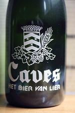 Heren van Lier, bottle of Caves beer