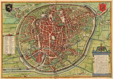 Old Map of Brussels