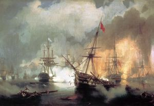 The Battle of Navarino Bay