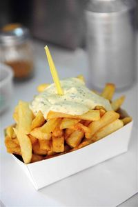 Belgian fries, Belgian food