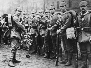 Mobilising Germans during World War one