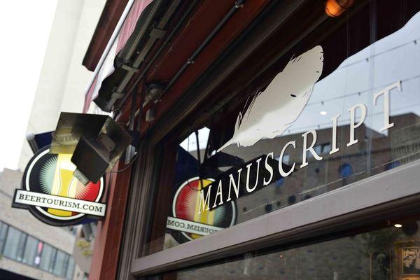 cafe Manuscript Ostend