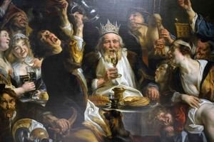 The King is Drinking, Jordaens