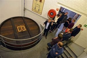Touring the Rodenbach brewery