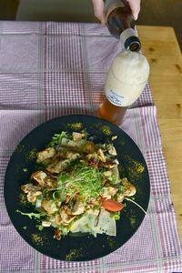 Caesar salad at Heeren Van Liedekerke