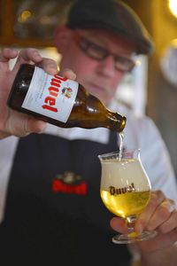 Duvel, brewed in Belgium by Duvel-Moortgat