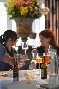 Muriel Lombard, Marjorie Elich - beer and food pairing
