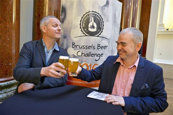 Brussels Beer Challenge 2016 - Luc De Raedemaecker and Thomas Costenoble