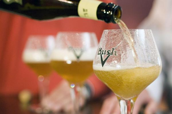 Bush beer and the Brasserie Dubuisson