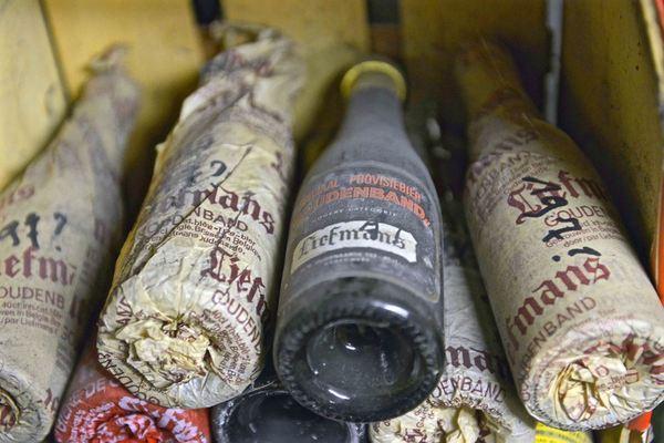 Aged Liefmans Goudenband at Dranken Geers
