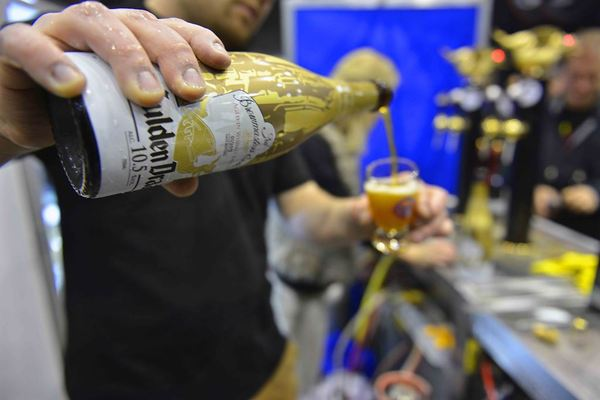 Gulden Draak at the Zythos Beer Festival 2016